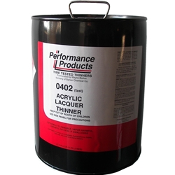 5 GAL ACRYLIC LACQUER THINNER FAST